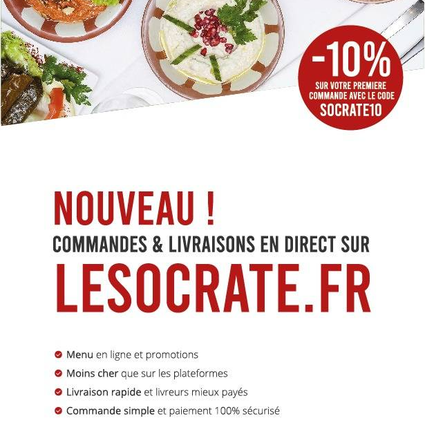 Le Socrate - Restaurant Nice